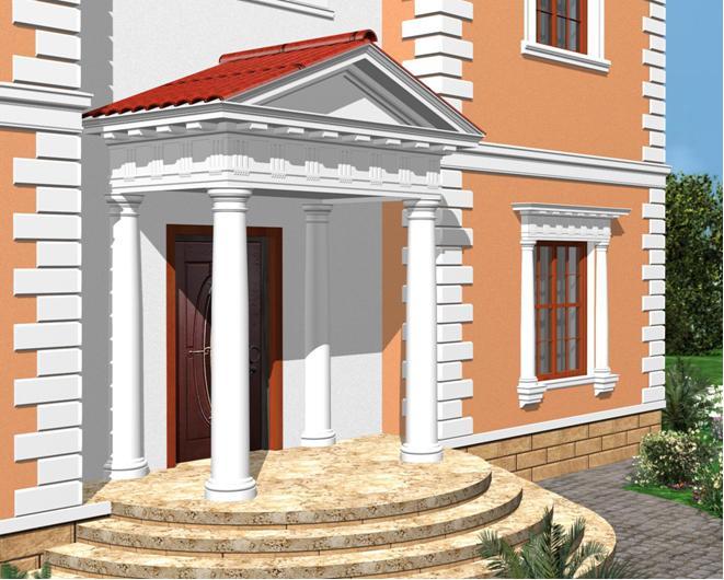 лепной декор и фасады зданий