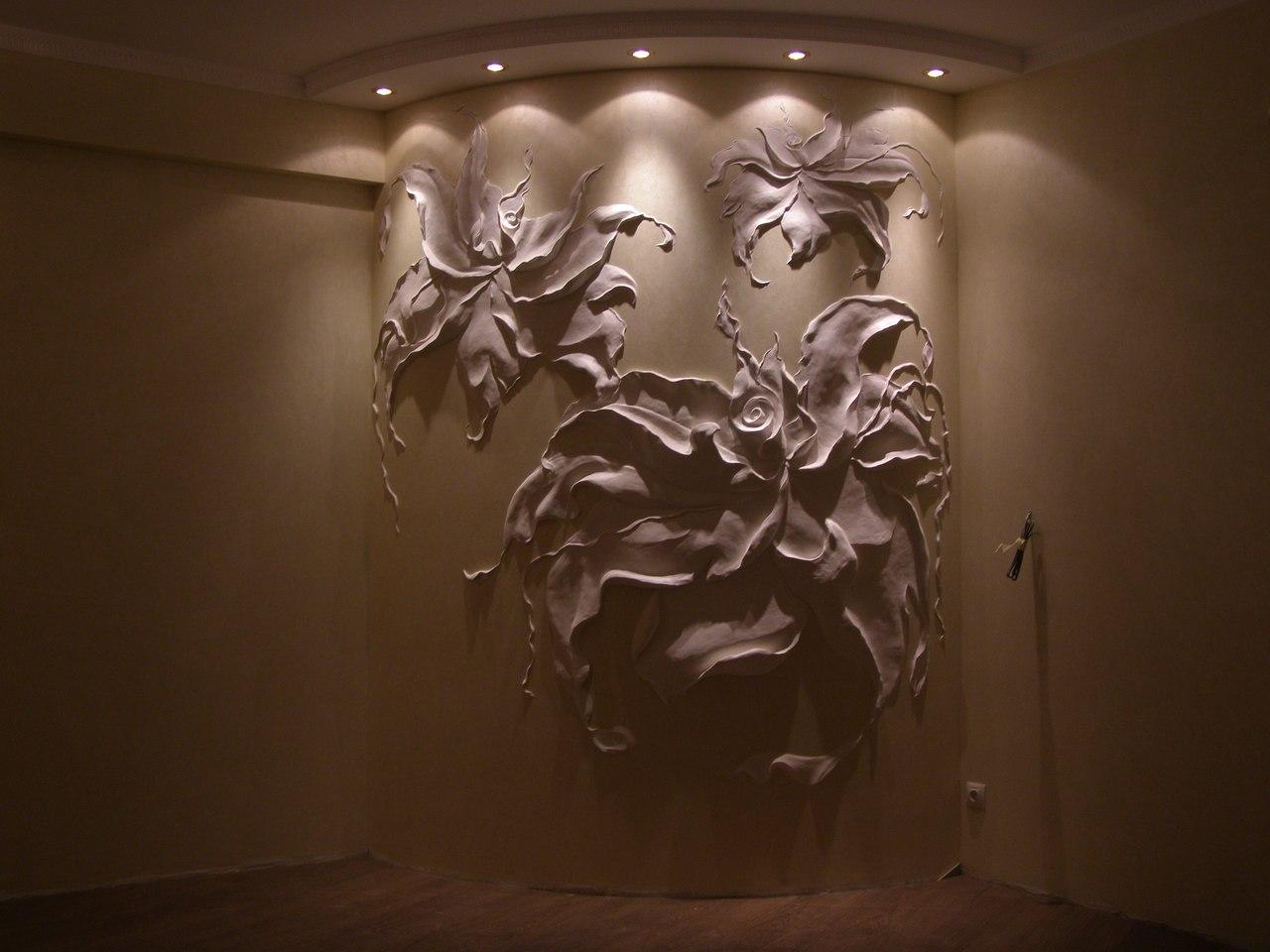 Барельеф на стене своими руками мастер класс