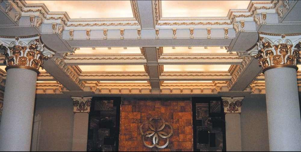 орнаменты на лепном декоре