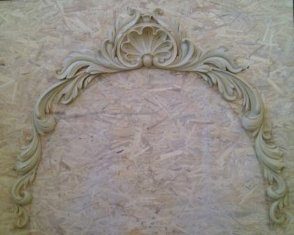 лепное обрамление зеркал